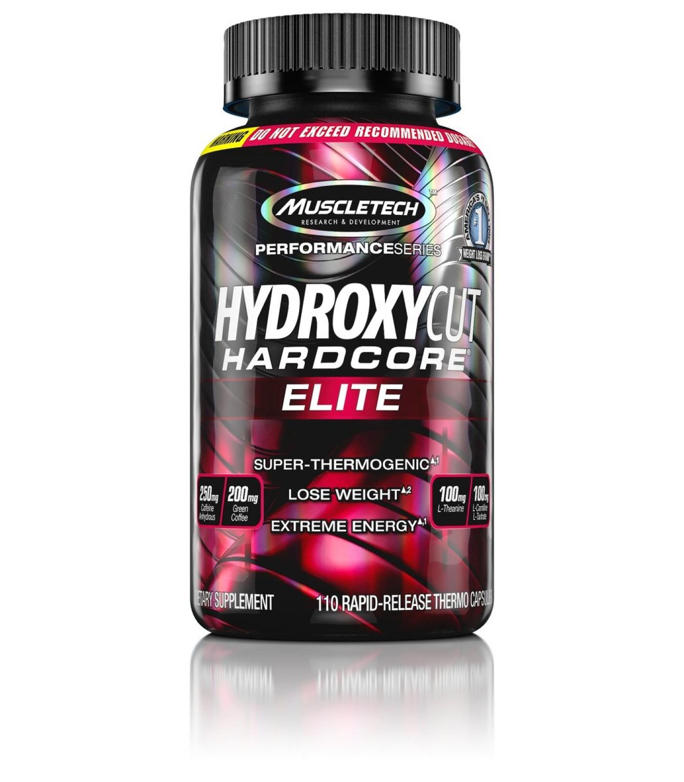 MuscleTech - Hydroxycut Hardcore Elite / 110 caps.