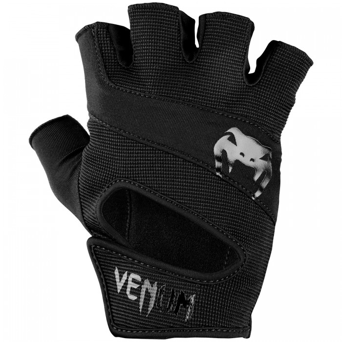 Ръкавици за фитнес - Venum Hyperlift Training Gloves - Black/Black​