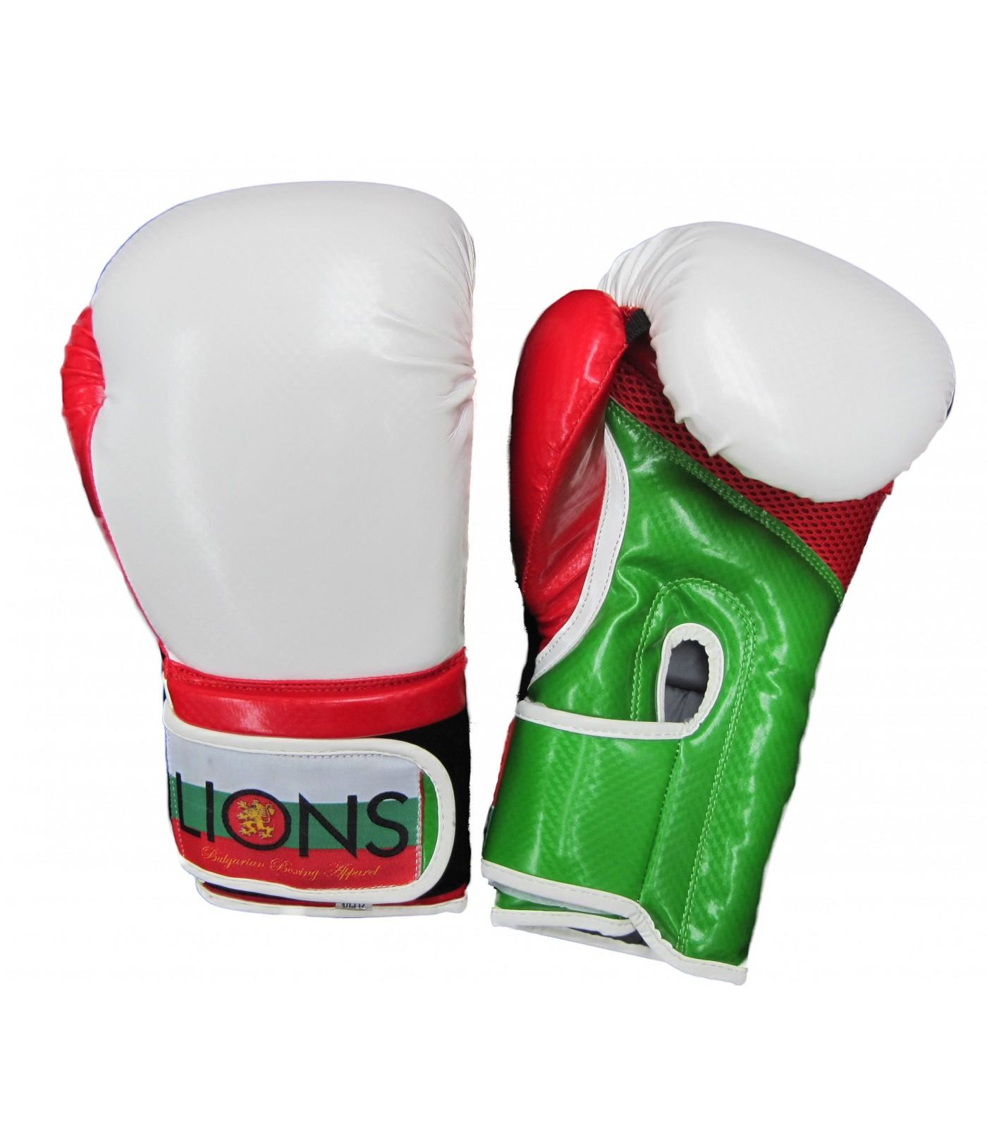 Lions - Боксови ръкавици Карбон