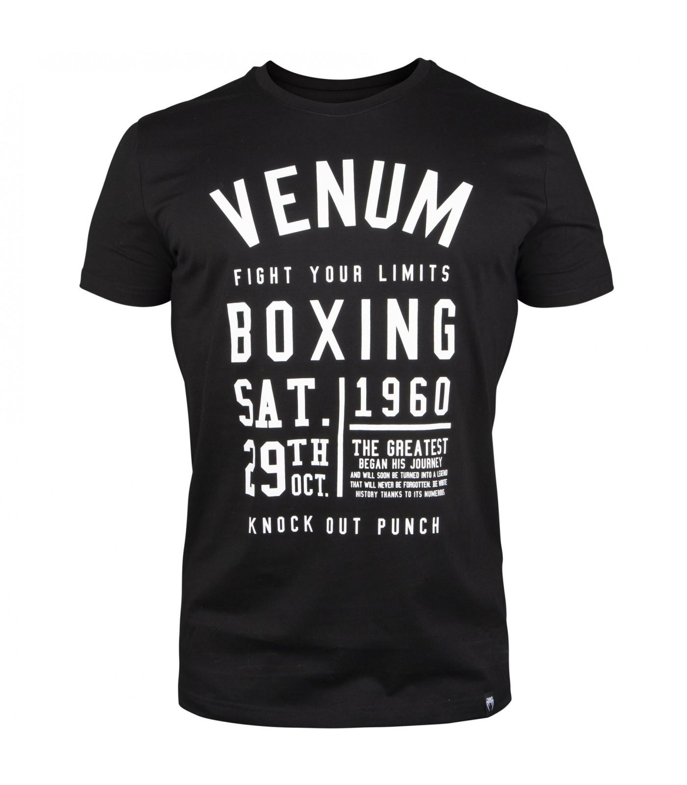 Тениска - Venum Knock Out T-shirt - Black​