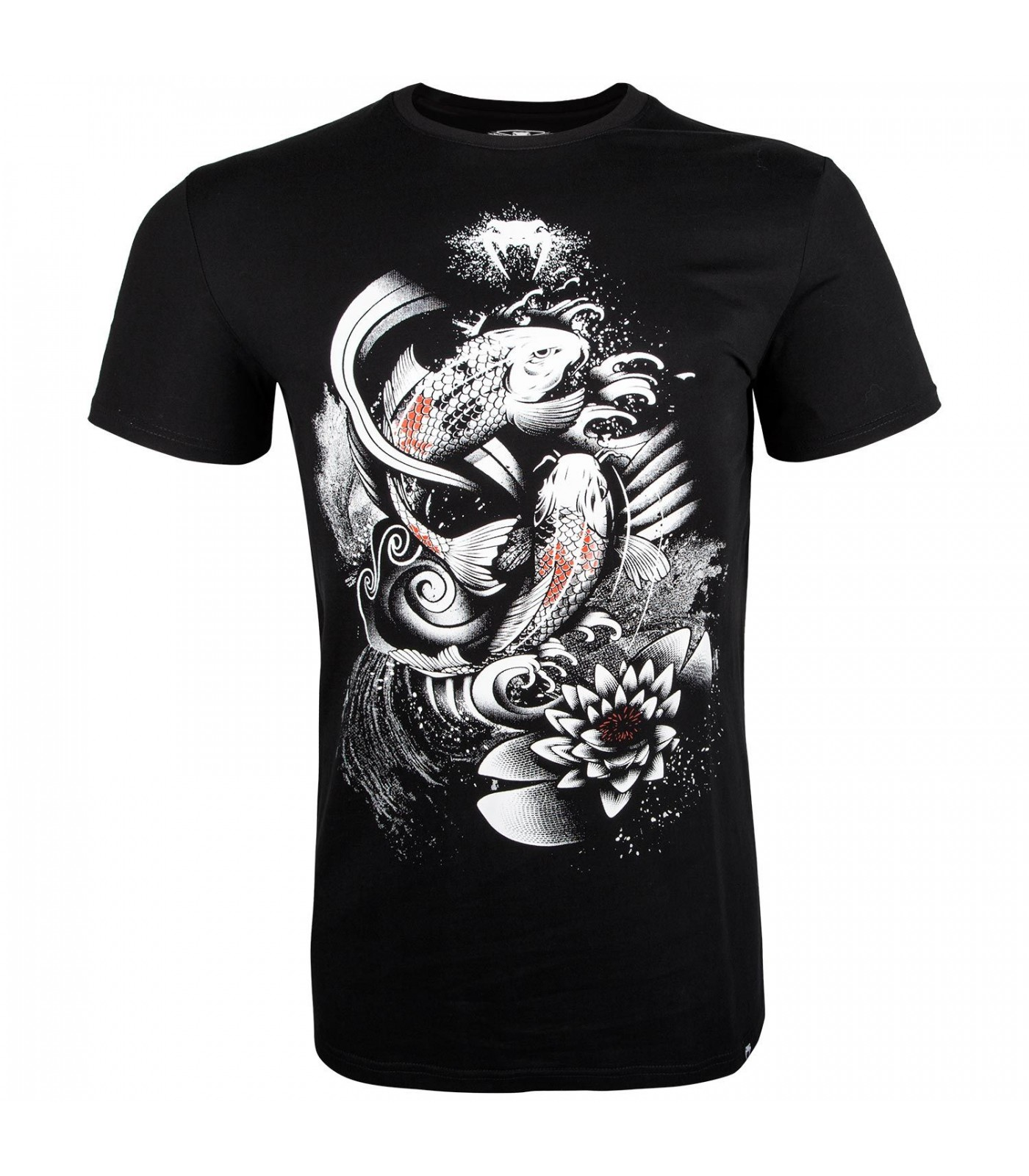 Тениска - Venum Koi 2.0 T-shirt - Black/White​