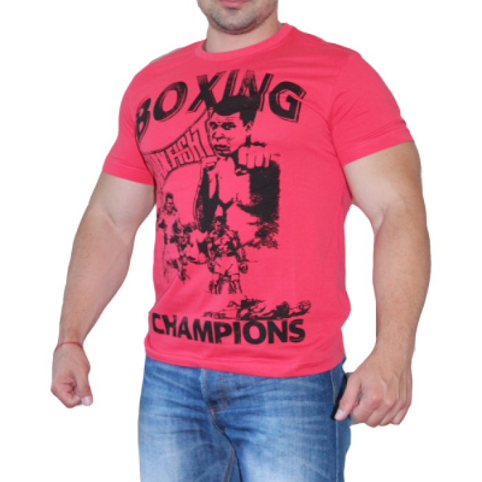Max Fight - Boxing Тениска Корал