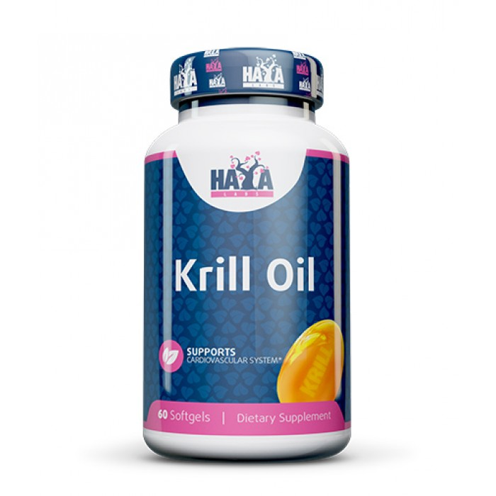Haya Labs - Krill oil 500mg. / 60soft.