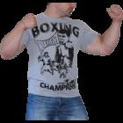 Max Fight - Boxing Тениска Сив меланж