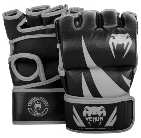 ММА ръкавици без палец - Venum Challenger MMA Gloves - Without Thumb - Black/Grey