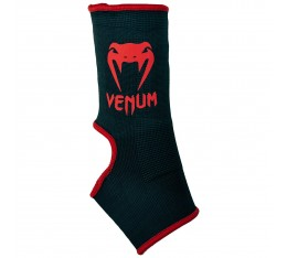 Наглезенки - Venum Kontact Ankle Support Guard - Black/Red​