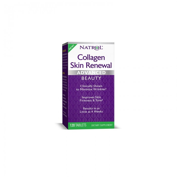 Natrol Collagen Skin Renewal / 120 tabs.