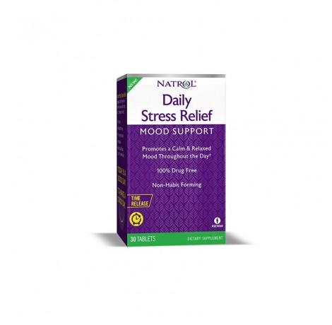 Natrol Daily Stress Relief / 30 tabs. Хранителни добавки, Други хранителни добавки, Витамини, минерали и др., Здраве и тонус