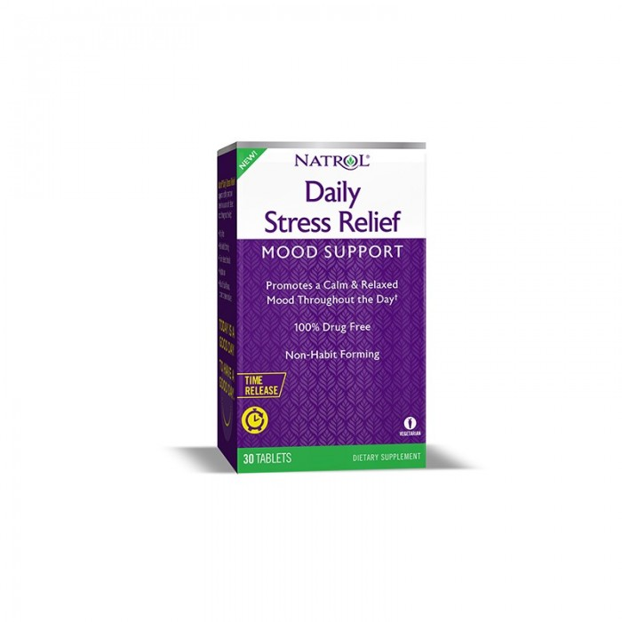 Natrol Daily Stress Relief / 30 tabs.
