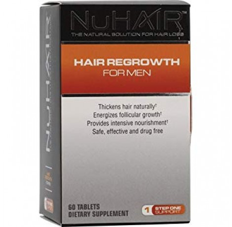 NuHair Hair Regrowth for Men / 60 tab.