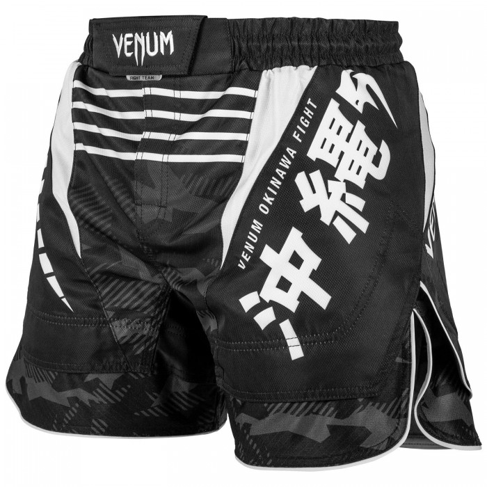 Шорти - Venum Okinawa 2.0 Fightshorts - Black/White​