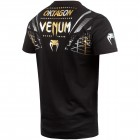 Тениска - Venum Oktagon T-shirt - Black/Gold-Silver​