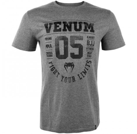 Тениска - Venum Origins T-Shirt - Heather Grey