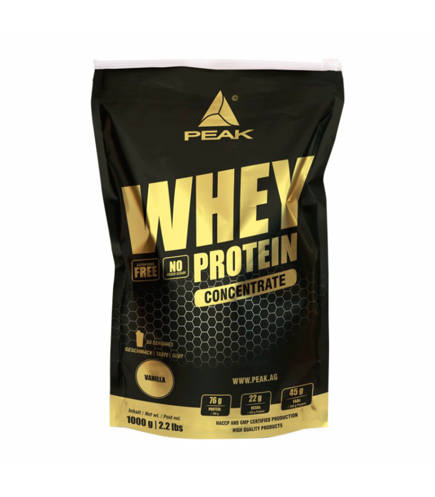 Peak - Whey Protein Concentrate / 1000gr