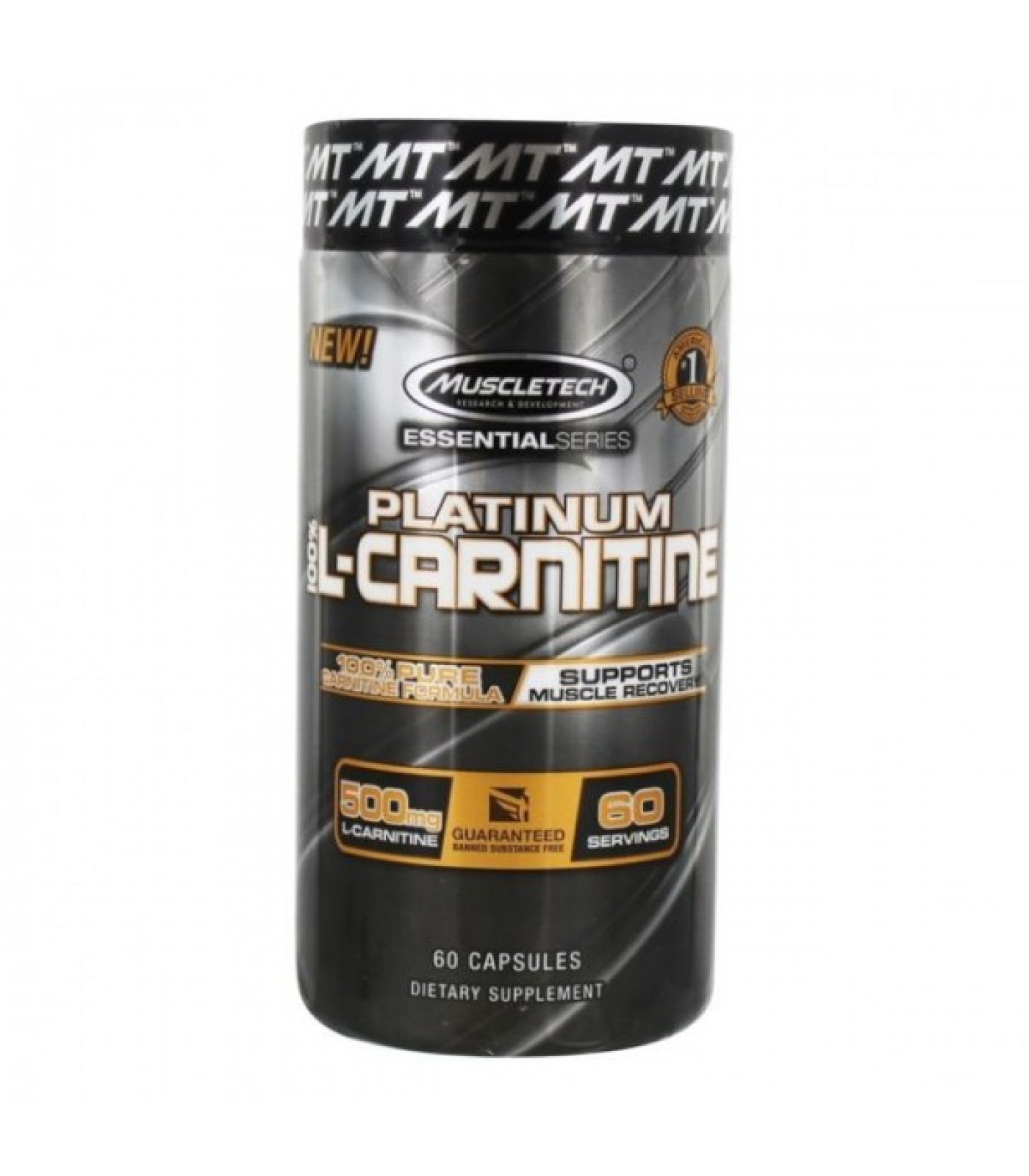 MuscleTech - Platinum 100% Carnitine / 60 caps.​