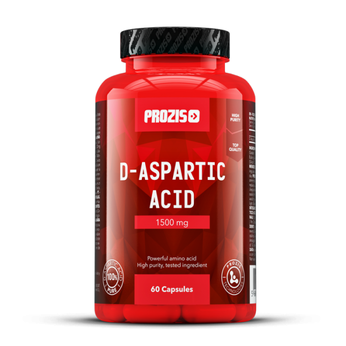 Prozis - D-Aspartic Acid / 60 caps.