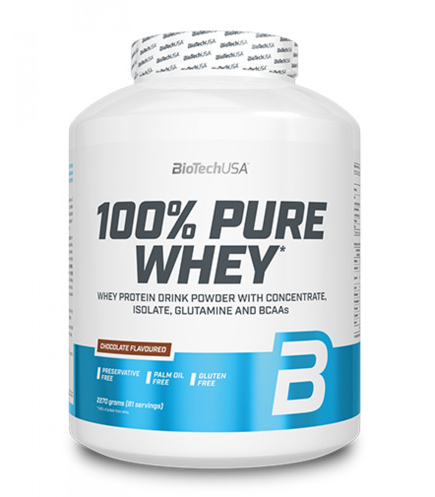 BioTech - 100% Pure Whey / 2270gr.