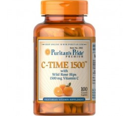 Puritan's Pride - Vitamin C-1500mg. with Rose Hips / 100tabs​