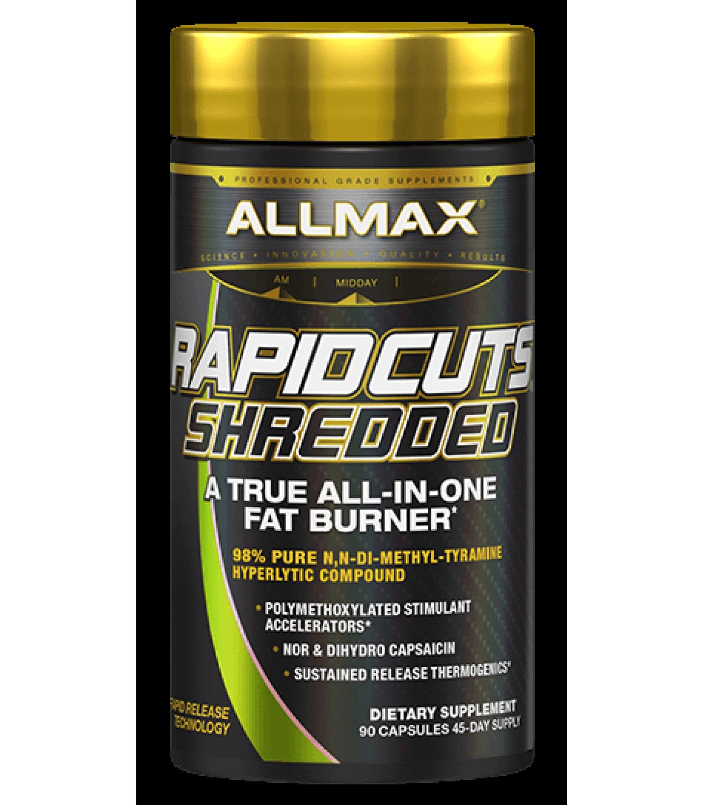 AllMax - RapidCuts Shredded / 90caps.