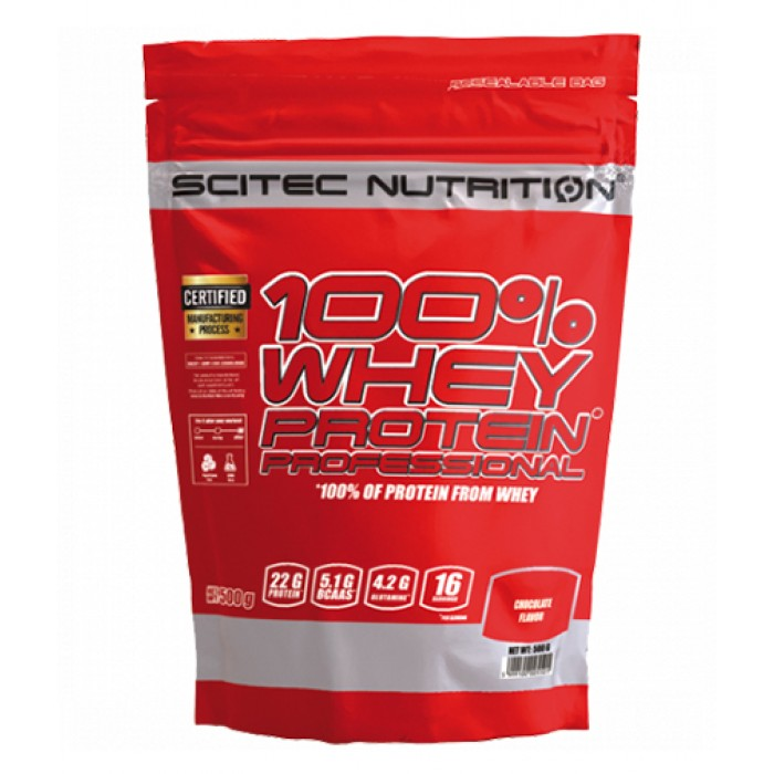 Scitec - 100% Whey Professional / 500 gr.
