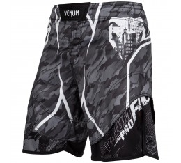 Шорти - Venum Tecmo Fightshorts - Dark Grey​ Къси гащета