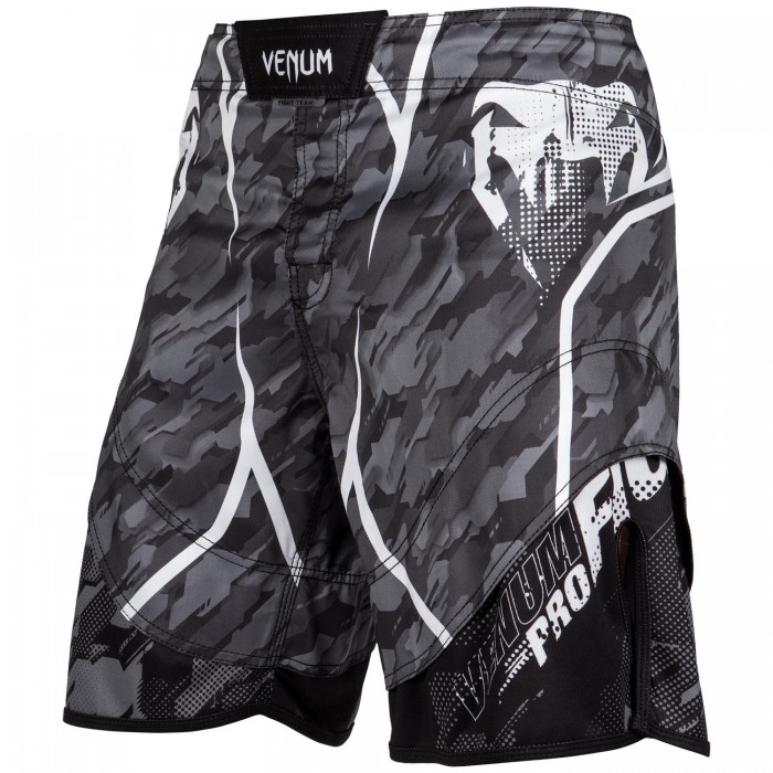 Шорти - Venum Tecmo Fightshorts - Dark Grey​