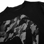 Тениска - Venum Tecmo Giant T-shirt - Black/Grey​