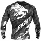 Рашгард -Venum Tecmo Rashguard Long Sleeves - Dark/Grey​