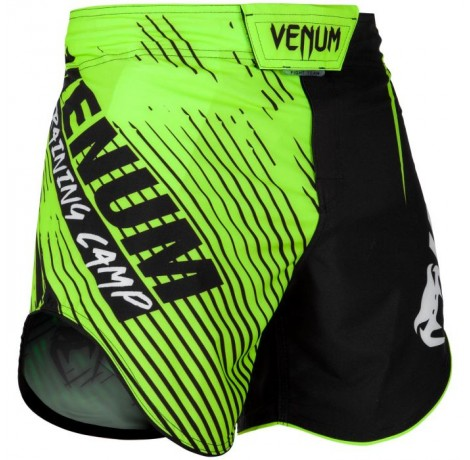 Шорти - Venum Training Camp 2.0 Fightshorts - Black/Neo Yellow
