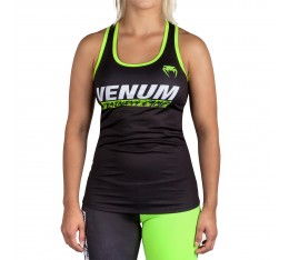 Дамски потник - Venum Training Camp Tank Top - Black/Neo Yellow​