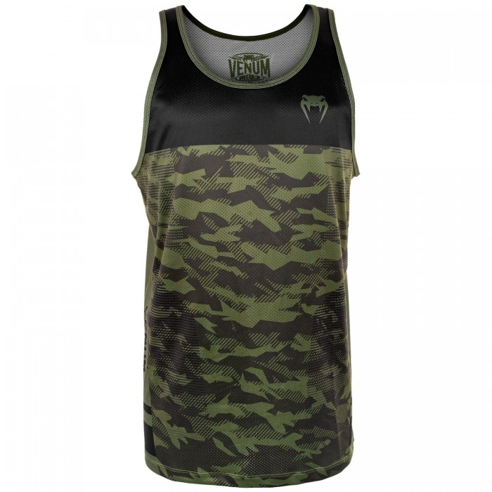 Потник - Venum Trooper Tank Top - Forest Camo/Black​