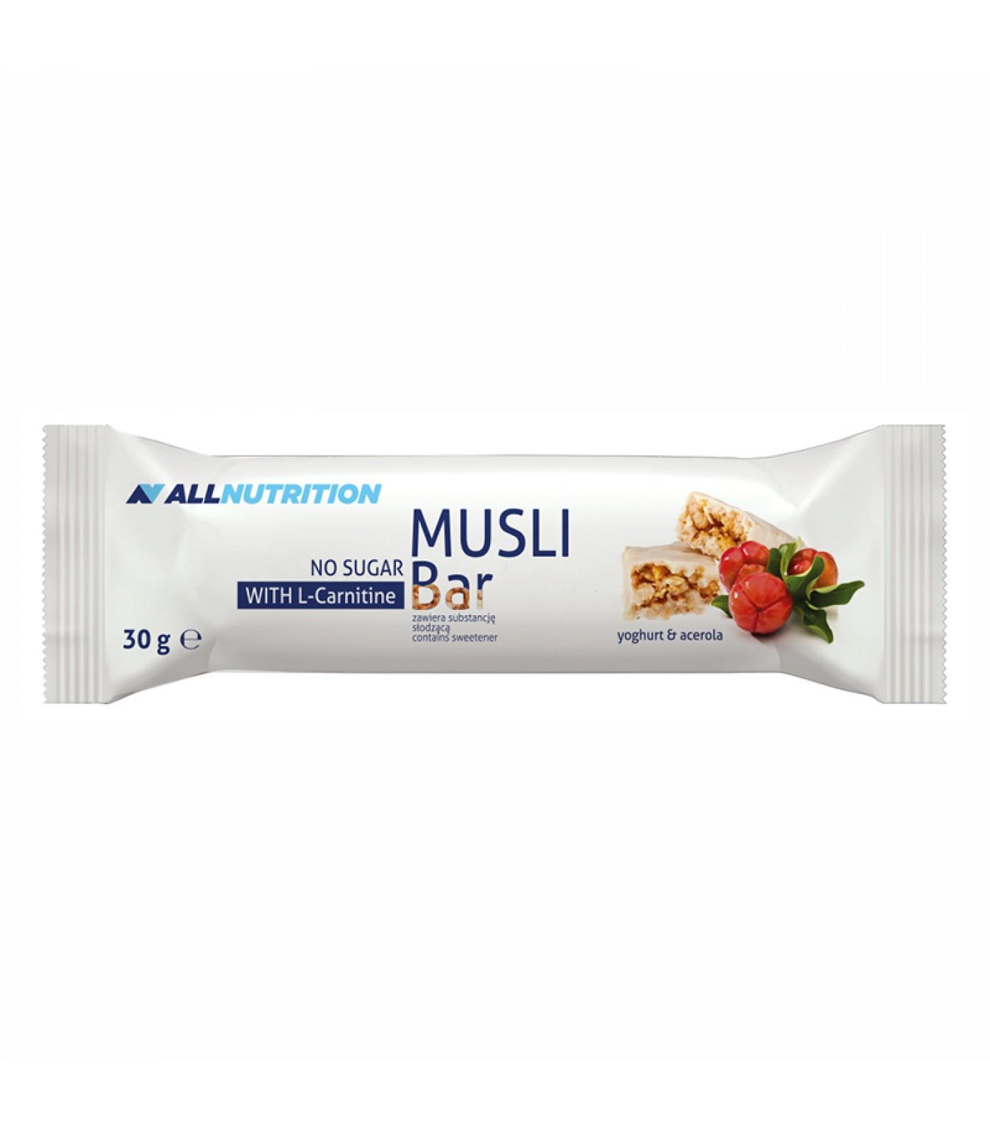 Allnutrition Musli Bar + L-Carnitine