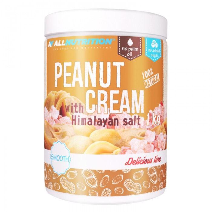 Allnutrition Peanut Cream Hymalayan Salt