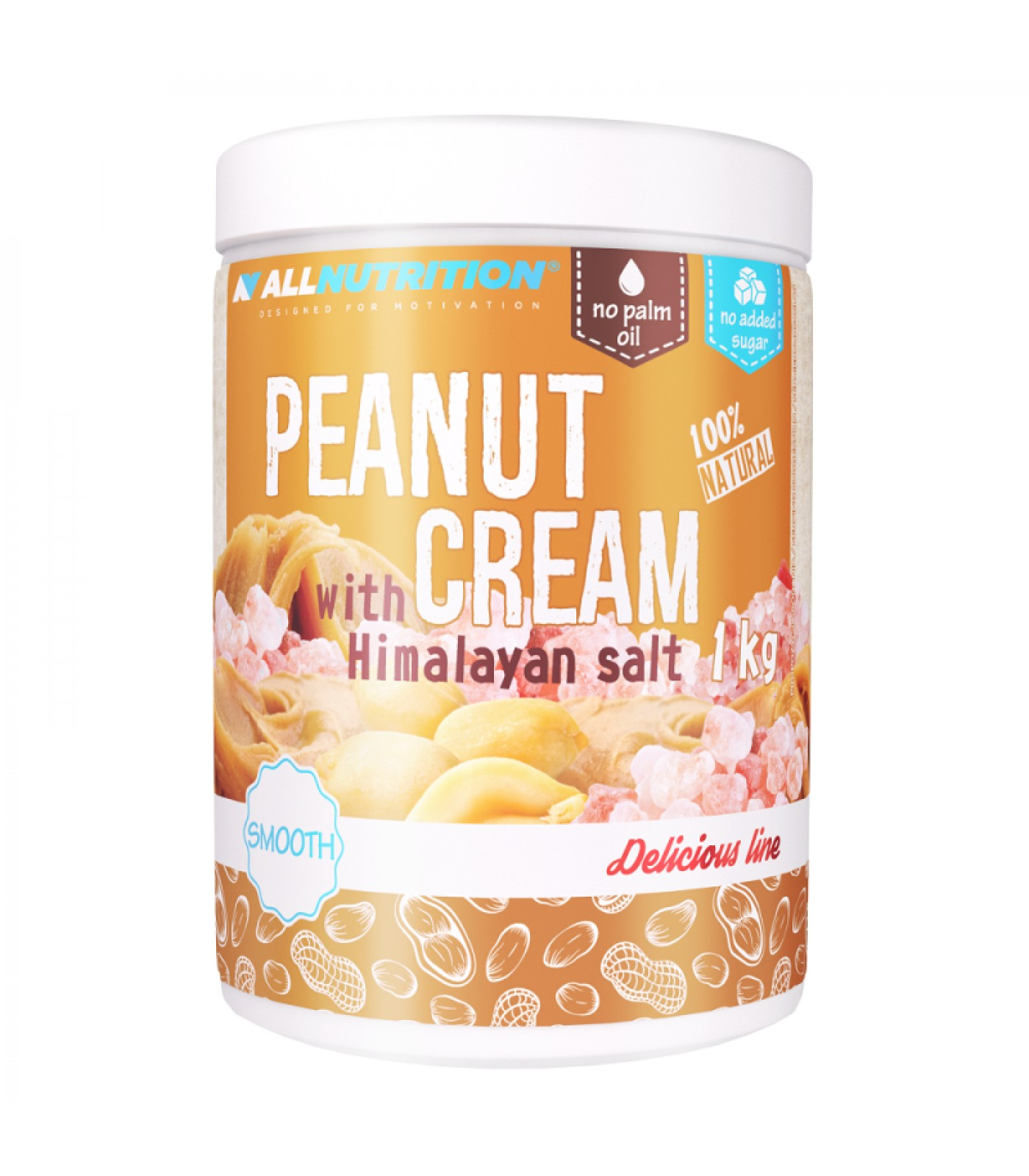 Allnutrition Peanut Cream Hymalayan Salt
