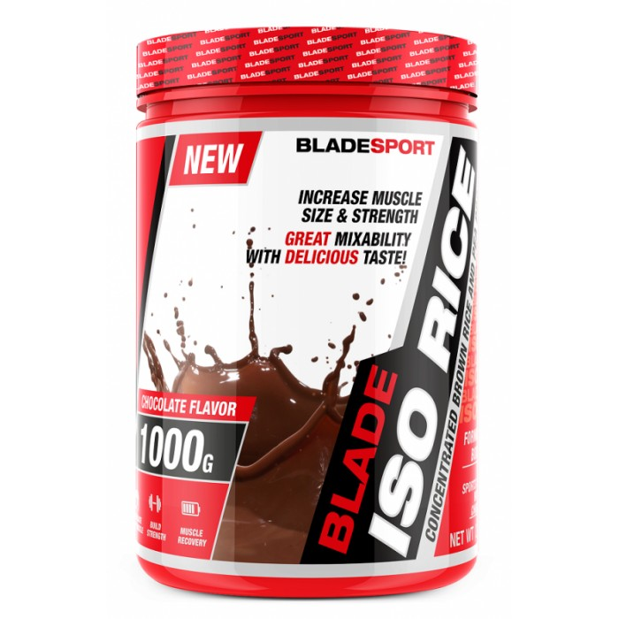 Blade Sport Iso Rice + Pea Protein