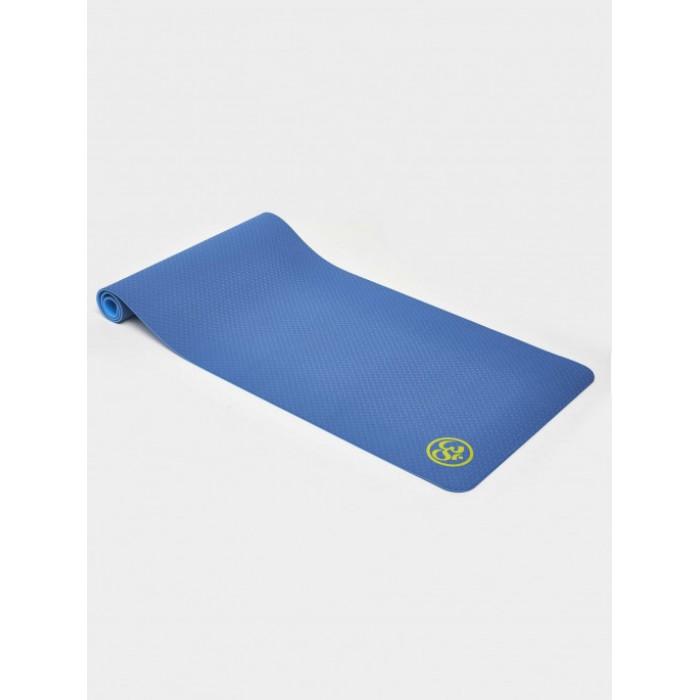 ORION Постелка за йога EM3025 - синя