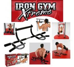 Iron Gym - Лост За Врата - Xtreme Фитнес аксесоари, Тежести, лостове и др.