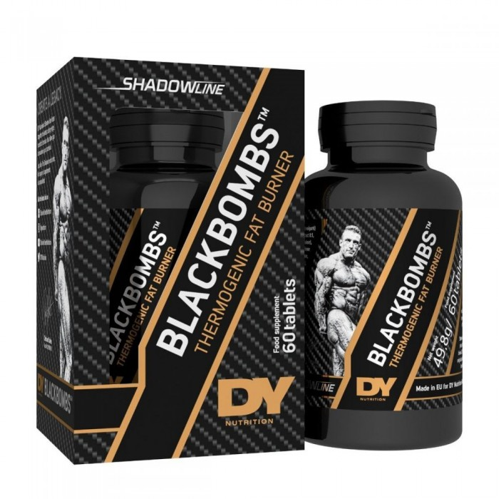 Dorian Yates Nutrition - BlackBombs / Thermogenic Fat Burner - 60tabs.