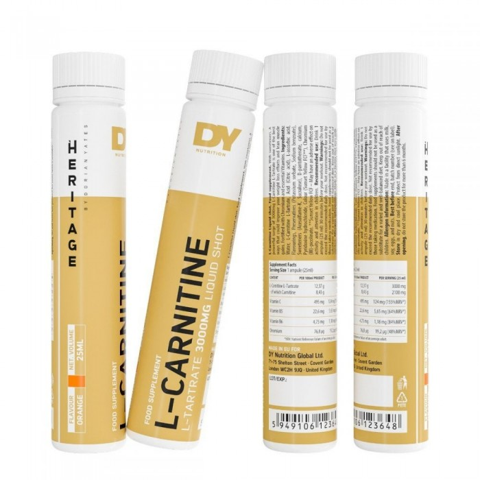 Dorian Yates Nutrition - Liquid L-Carnitine Shot 3000