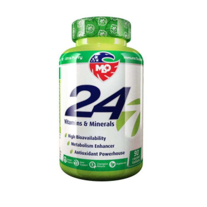MLO 24/7 Vitamins & Minerals 90 таблетки