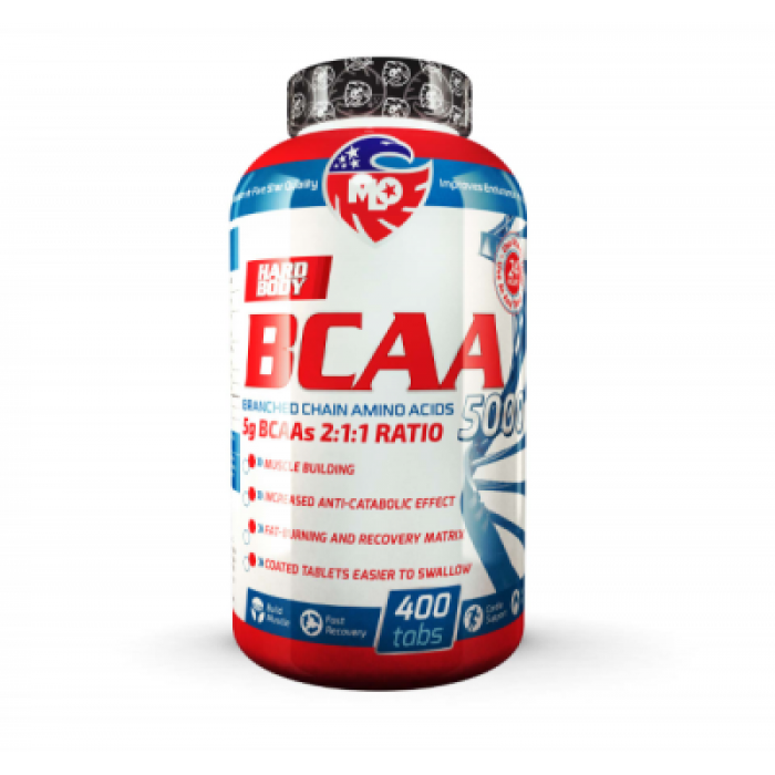 MLO BCAA 5000 2:1:1 400 таблетки