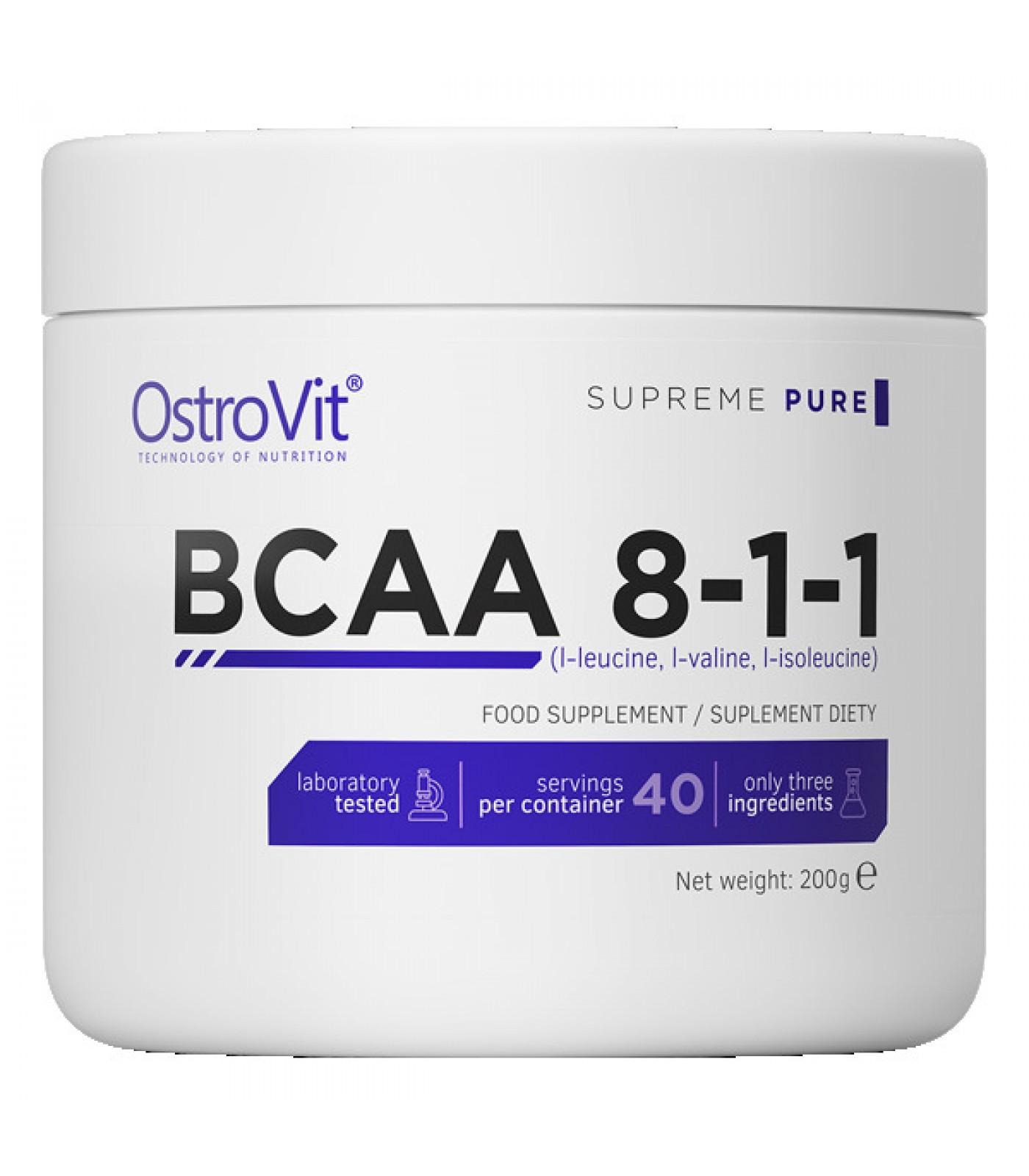 OstroVit - BCAA 8:1:1 Powder / 200 g
