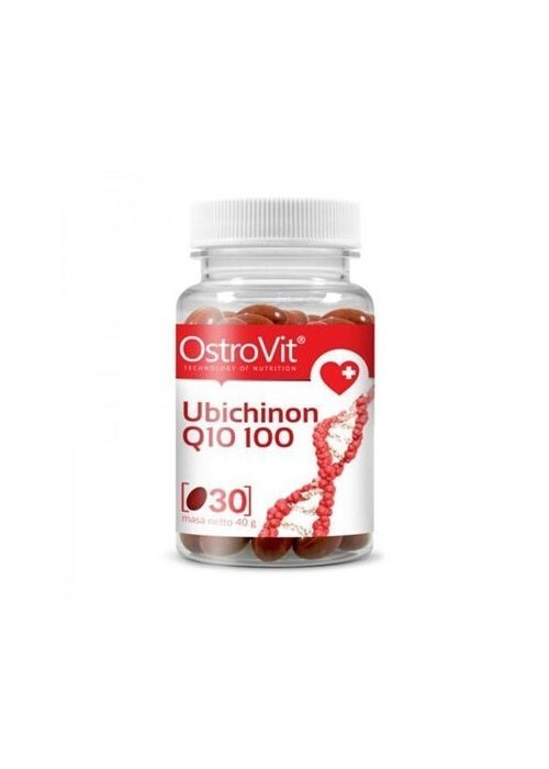 OstroVit - CoQ10 / Ubichinon 100 mg / 30softgels
