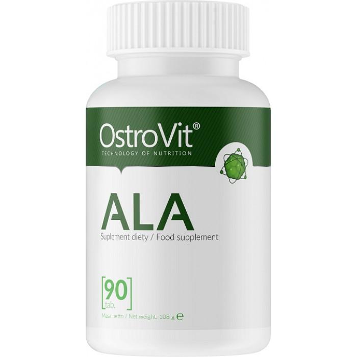 OstroVit - ALA / Alpha Lipoic Acid 600 mg / 90tabs.