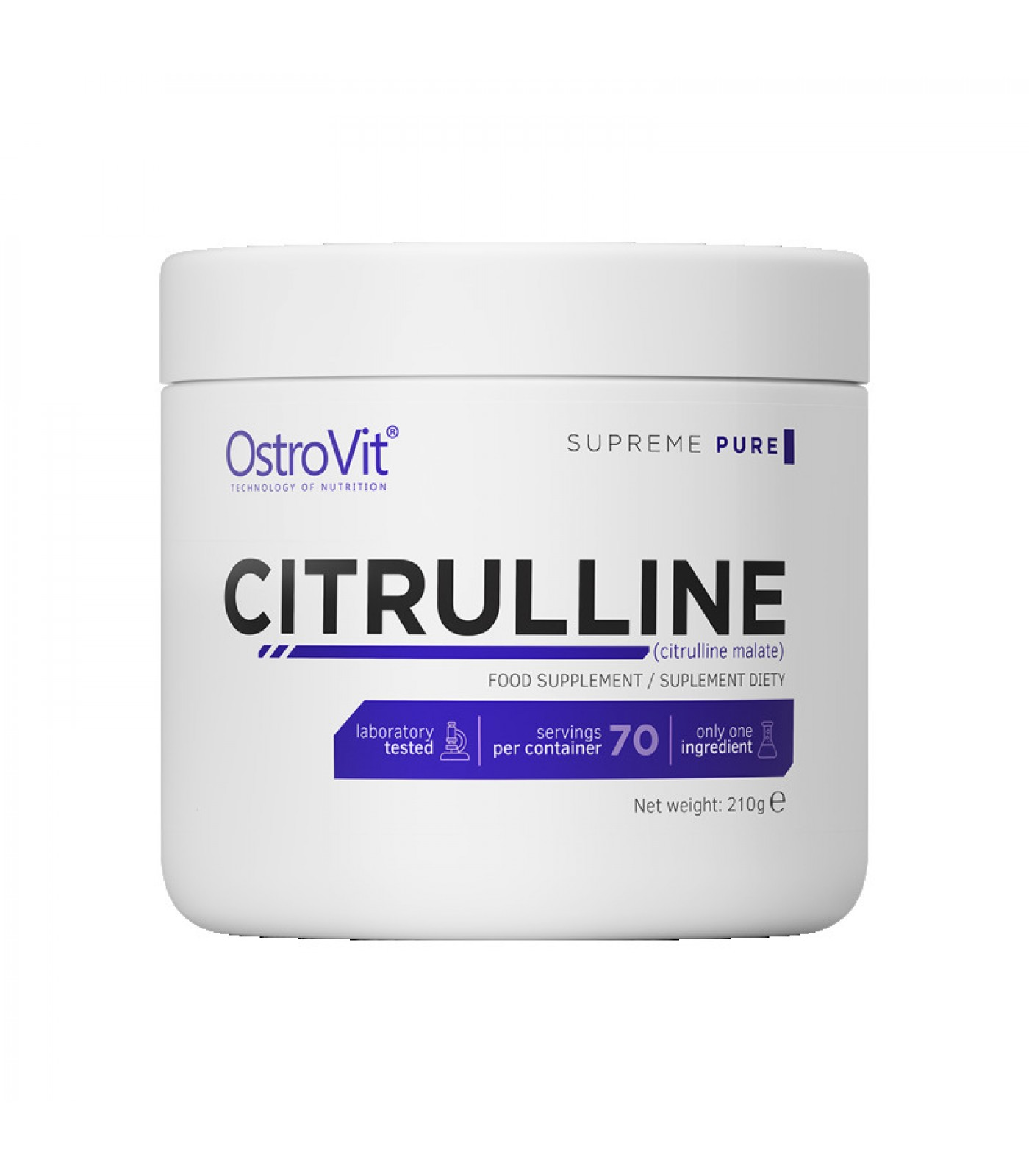 OstroVit - Citrulline Malate Powder / 210g.