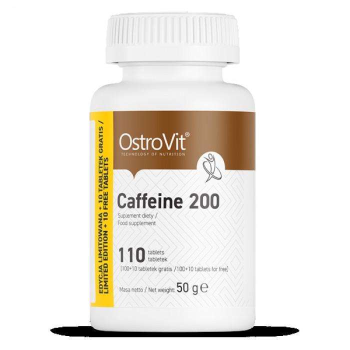 OstroVit - Caffeine 200 / 110tabs.