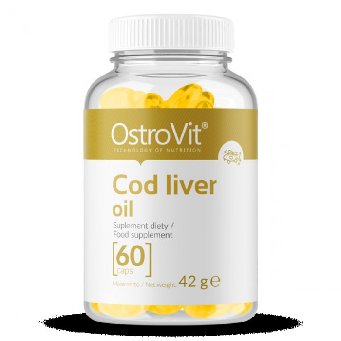 OstroVit - Cod Liver Oil / 60softgels