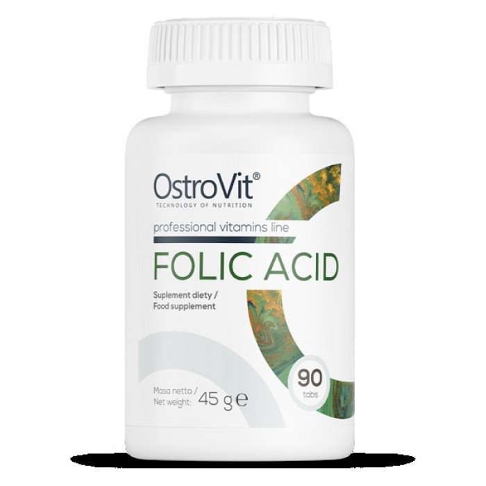OstroVit - Folic Acid 400 mcg / 90tabs.