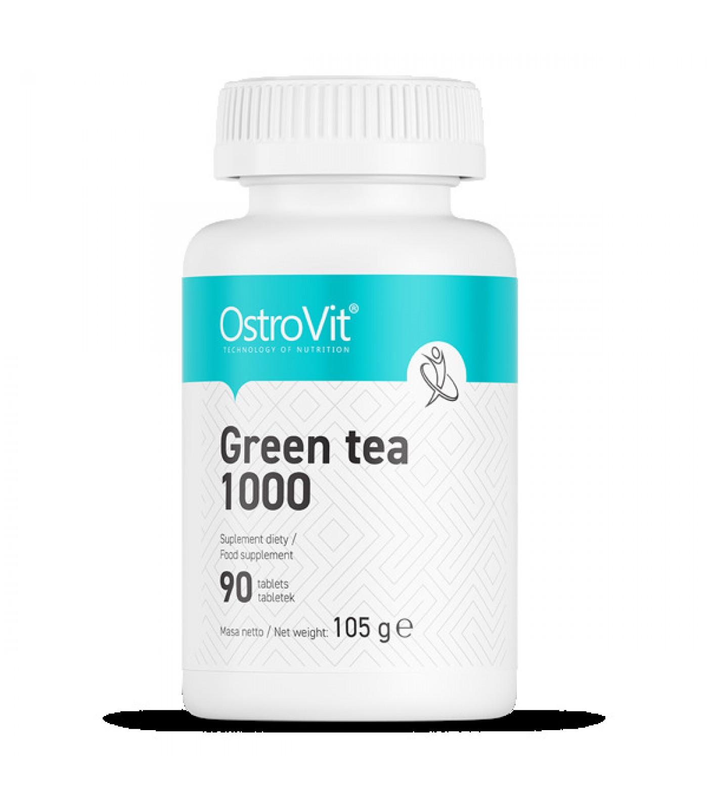 OstroVit - Green Tea 1000 / 90tabs.