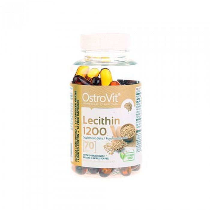 OstroVit - Lecithin 1200 / NO GMO / 70softgels